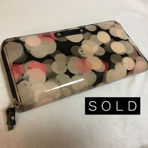 Kate Spade Bags - SOLD~ KATE SPADE   CHERRY TERRACE Bubbles Wallet